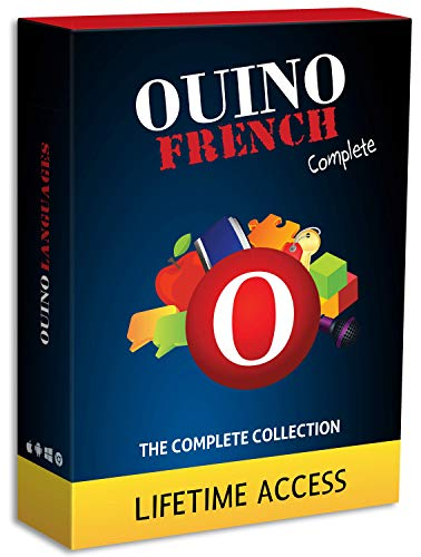Learn French with OUINO: New Improved Edition v4 | Lifetime Access (for PC, Mac, iOS, Android, Chromebook)
