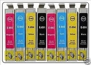 Premier Ink - Cartuchos de tinta compatibles T0715 y T0895 para ...