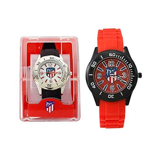 Seva Import - Reloj pulsera Atletico de Madrid cadete, Rojo