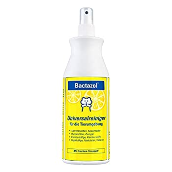 Bactazol Nettoyant Universel 500 ML – avec Parfum d'agrumes Frais pour Chiens, Chats, Petits Animaux et Oiseaux