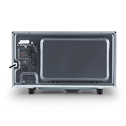 Klarstein Steelwave four à micro-ondes multifonction 2 en 1 + set d'encastrement (capacité de 23L,...