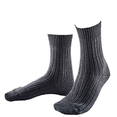 JD 3 Paar B&eswehr Strümpfe/Socken mit Plüschsohle,made in Germany (Grau/Kurz, 42/44)