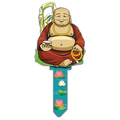 Lucky Line Key Shapes, Buddha, House Key Blank, KW1/11, 1 Key (B137K)