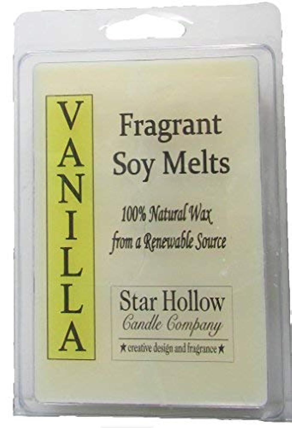 予知食堂代理人Star Hollow Candle Co Vanilla Soy Melts 6 oz [並行輸入品]