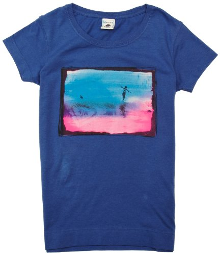 Roxy screenline t-Shirt en Bright Sun 16 Ans Bleu - Bleu