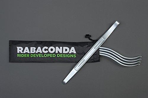 Rabaconda Montierhebel Silber Gr. 380 mm