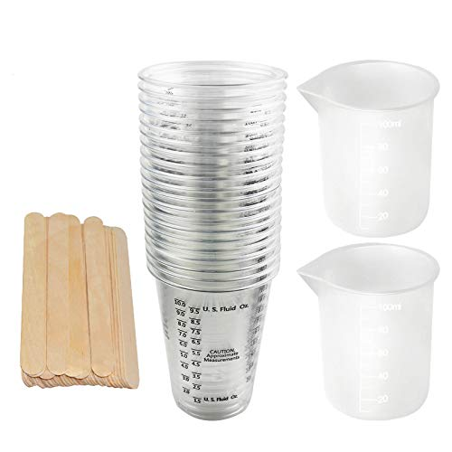 LET'S RESIN Resin Mixing Cups 20pcs