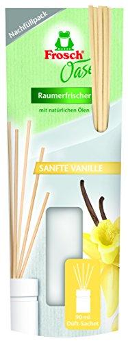 Frosch Oase Sanfte Vanille 90 ml Nachfüllpack, 4er Pack (4 x 0.09 l)