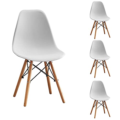 Aaron Living Dining Room Chairs Set of 4 Pre Assembled Modern...