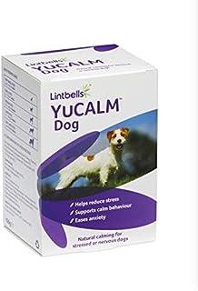 Lintbells - YuCALM Dog 60 Tablets, Calming Supplement for Nervous & Stressed Dogs