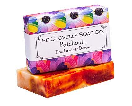 Clovelly Soap Co. Handgemachte Patschuli Naturseife für alle Hauttypen 100g