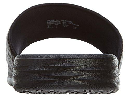 Nike Benassi Solarsoft Slide 2, Chaussures de Plage & Piscine homme, Noir (Black/Anthracite 091), 46