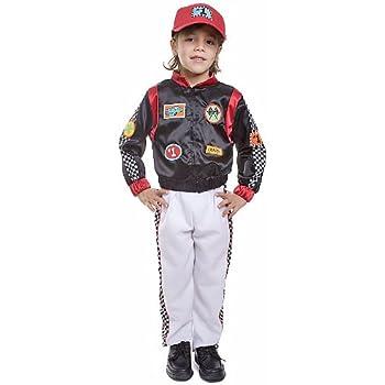 Dress Up America Disfraz de Conductor de Coche de Carrera de niños ...