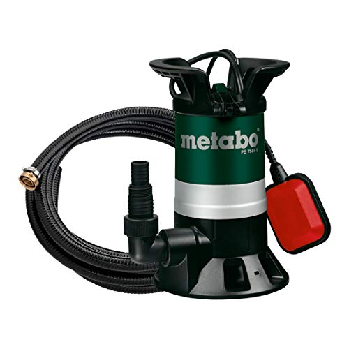 Metabo 690864000 Tauchpumpe PS 7500 S, 10 W, 18 V
