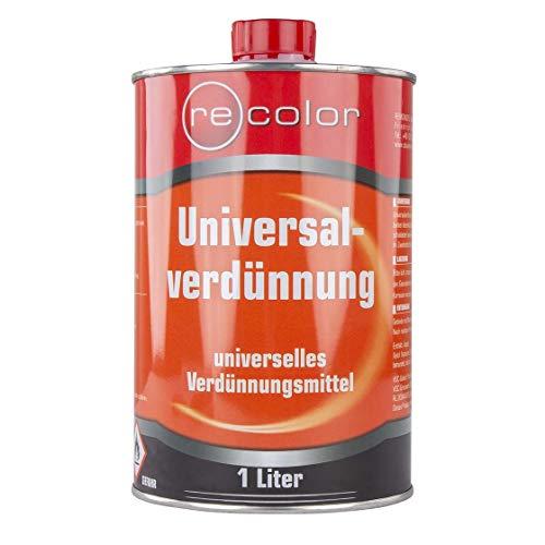 Universalverdünnung | 1 l | Lack | Durchhärtung | Kunstharzlack | Trocknungsbeschleuniger | Lackverdünnung | Verdünnung | Nitro | Lösemittel