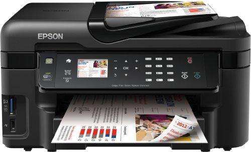 Epson WorkForce WF-3520DWF Multifunktionsgerät (Drucker, Scanner, Kopierer, Fax, WiFi, Ethernet, Duplex)