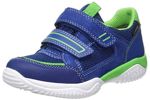 Superfit Jungen Storm Gore-Tex Sneaker, Blau (Blau/Grün 80), 35 EU