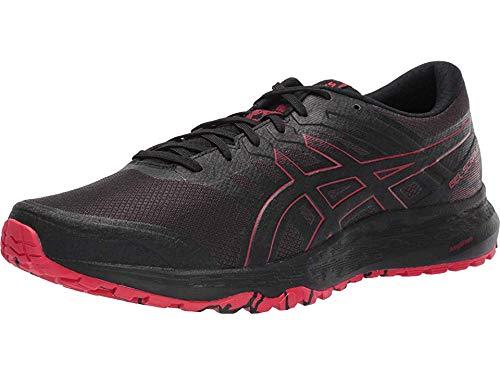 ASICS Men's Gel-Scram 5 Trail Running Shoes, 12M, Black/Speed RED