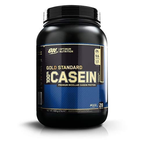 Optimum Nutrition Gold Standard Casein Slow Digesting Protein Powder Shake with Glutamine and Amino Acids, Cookies and Cream, 28 Servings, 900 g