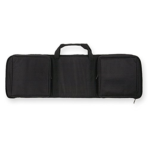Bulldog Extreme Rectangle Discreet Black Assault Rifle Case (35-Inch)