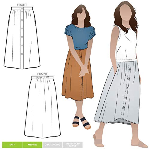 Style Arc naaipatroon - Bonnie geweven rok Sizes 04-16