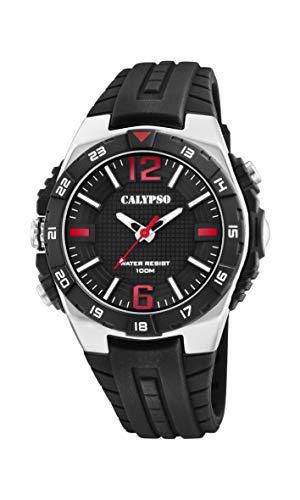 Calypso Watches Reloj Analógico para Hombre de Cuarzo con Correa en Plástico K5778/6