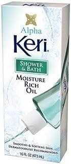 Keri Alpha Shower & Bath Moisture Rich Oil, 2 Count