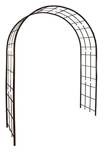 Louis Moulin 3006 Arche pour Plantes Grimpantes Métal Fer Vieilli 180 x 50 x 250 cm