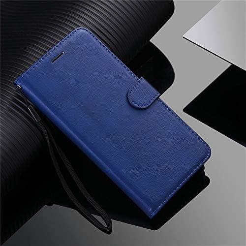 HHF-1 1fortunate Cajas del teléfono para Sony Xperia 10 II, Caja de la Cartera de Cuero de Lujo Flip Cover para Sony Xperia XA2 XA3 XZ2 XZ3 XZ4 Compackt XZ5 E5 E6 Z3 Z5 Mini