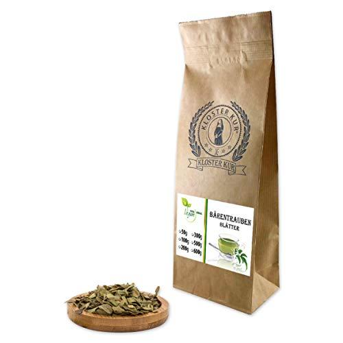 VITAIDEAL VEGAN® Bärentraubenblätter geschnitten (Arctostaphylus uva-ursi, Bärentrauben) 100g, rein natürlich ohne Zusatzstoffe.