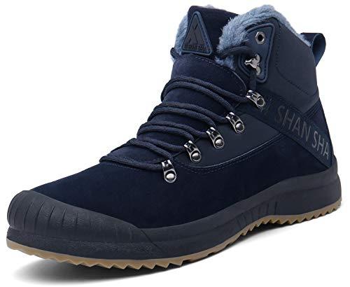 Mishansha Mujer Botas Invierno Botines Trekking Botas de Nieve Outdoor Antideslizantes Zapatos...