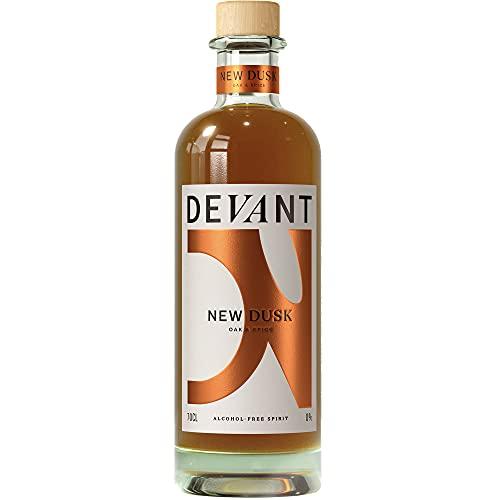 Devant New Dusk Alcohol-Free Spirit – 70cl Oak & Spice Premium Non-Alcoholic Spirit - Whisky and...