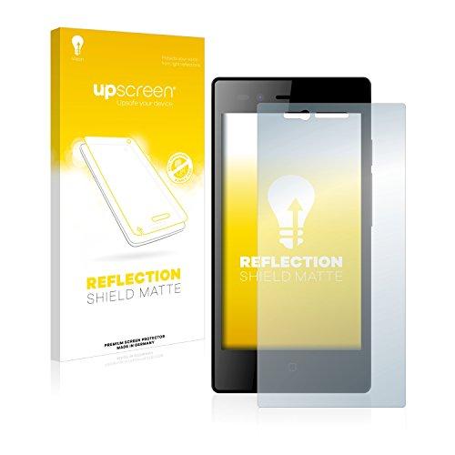 upscreen Entspiegelungs-Schutzfolie kompatibel mit Siswoo A5 Chocolate – Anti-Reflex Bildschirmschutz-Folie Matt