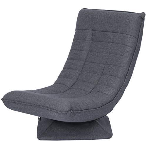 OLT-EU Modern Relaxsessel, Relaxliege Chaiselongue, Wohnzimmer Ergonomisch Relaxliege Liegesessel mit Hölzern Chassis für Wohnzimmer Schlafzimmer Büro Balkon Möbel (Grau)