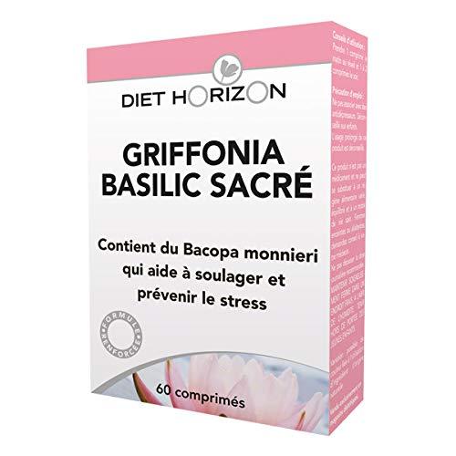 DIET HORIZON - Griffonia Basilic Sacré Action 24H 60 Comprimés - Lot De 2