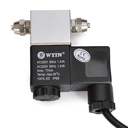 Producto nuevo 1pieza 220V válvula de solenoide magnético noche tiempo sistema de co2DIY acuario regulador