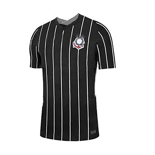 Nuevo Uniforme de fútbol para Hombres 2020-2021, Manga Corta de fútbol de Verano, Uniforme de Juego de Entrenamiento de fútbol para Estudiantes universitarios-Away-S