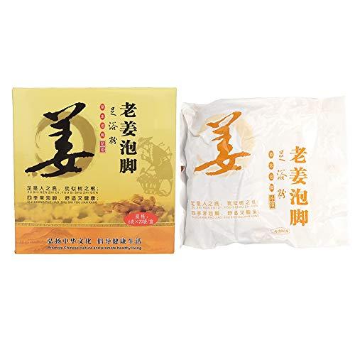 Antilog Fußbad Pulver, Pflanzen Fuß Bad Pulver Chinesische Kräuter Fußhaut Gesundheitspflege(#2)