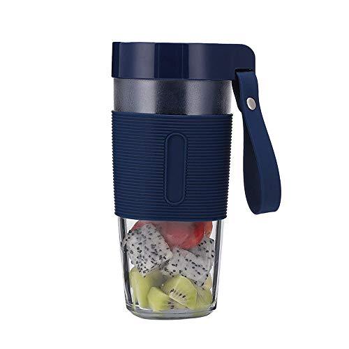SXXYTCWL Portátil Blender Smoothie Blender Maker Mini Blender USB Blender Cordless Small Juicer Cup Fruit MEZCER Recargable BPA gratis 350 ml para el hogar Oficina de viaje deportiva al aire libre (ro