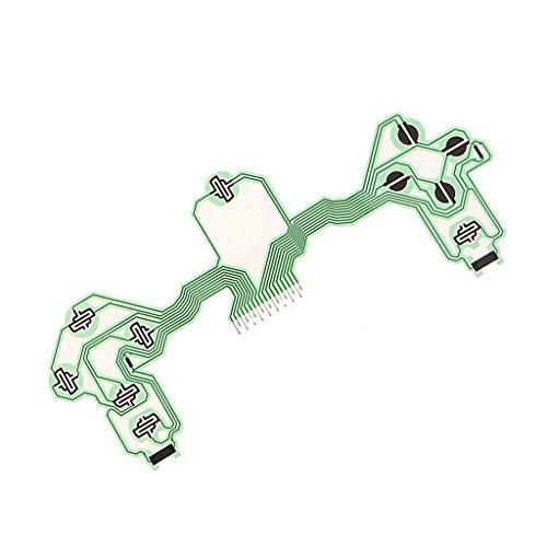 Reemplazo Flex Cable Conductive Film Handle Teclado Controlador Botón Circuit Board para...