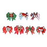 Christmas Ornament,Beautiful and Comfortable Clip Accessories for Christmas Hair Clips