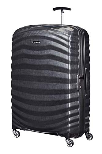 Sale!! Samsonite Lite-Shock Suitcase, 81 cm, 124 Liters, Black