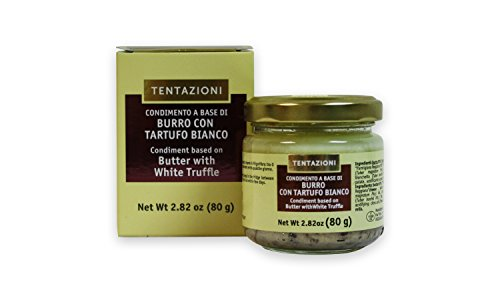80g Italienische Trüffelbutter mit 5% weißem Trüffel und Parmigiano Reggiano DOP