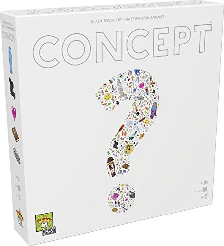 Asmodee - Concept, Gioco da Tavolo, Edizione in Italiano, 8640