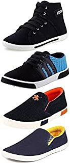 CLYMB Perfect Combo Pack of 4 Sneakers Shoes for Men