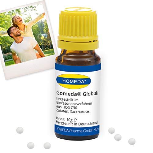 HOMEDA GOMEDA Globuli • hormonfrei hergestellt im Bioresonanzverfahren aus hCG C30 • hCG-Aktivator-Globuli • Original GOMEDA seit 2006