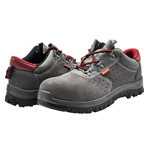 Bellota 7230542S1P Zapatos Serraje, Gris, 42