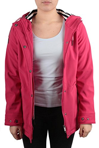 Zabaione kurzer Mantel in pink Größe M