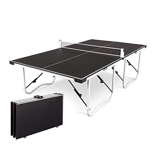 Stoge 2020 Faltbare Tischtennis Tischtennisplatte, Vormontiert Compact Tischtennis Mit Netzgarnitur, Indoor/Outdoor Mini Tennis Tisch
