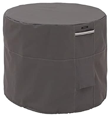 Classic Accessories Ravenna Square Air Conditioner Cover - Premium Outdoor Cover with Durable and Water Resistant Fabric